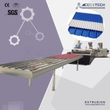 PVC+ASA/PMMAの屋根シートの放出ライン