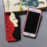 La nuova ragazza degli orli frega il coperchio della cassa del telefono del PC per il iPhone 6/7/8/8plus