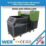Impressora UV Desktop acrílica Flatbed UV do preço A1 da alta qualidade nova do projeto a melhor