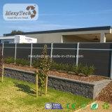 Rete fissa esterna brevettata del giardino WPC di segretezza del prodotto con resistenza UV