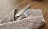 착색된 평야는 서쪽 음식 피복 45*60cm 면 및 리넨을 줄무늬로 한다