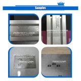 Тип пластичного гравировального станка лазера портативный для материала металла
