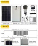 チリの市場のためのTUVの承認265Wの太陽電池パネル