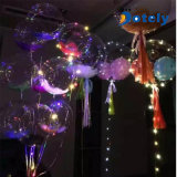Ballon van het Helium van Bobo Ball Inflatable LED Lights van de bal de Plastic