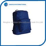 형식 줄무늬 유연한 파란 폴리에스테 책가방