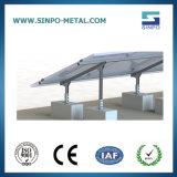 Corchetes solares de acero galvanizados para el montaje de la azotea plana
