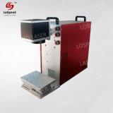 Beweglicher Typ Faser-Laser-Markierungs-Maschine für Befestigungsteil-Zubehör u. Hilfsmittel