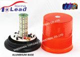 12-24 V Base de métal orange LED SMD 5050 lumière stroboscopique pour voitures d'exploitation minière