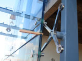 Стекло с полукруглой крестовины для создания проектов (TG204-2-90)