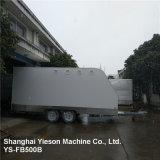 Ys-Fb500b 5m de Witte Mobiele Aanhangwagen van het Voedsel van de Vrachtwagen van het Voedsel Mobiele