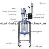Biodiesel-doppelte Schicht-Mantelglasreaktor
