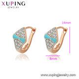 L'environnement Xuping Cuivre 2 gramme d'or conçu pour les femmes belles boucles