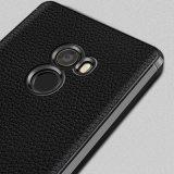 Новый продукт заднюю крышку мягкий чехол Lychee полосой тонкий кожаный чехол для Xiaomi ИЗ ТЕРМОПЛАСТИЧНОГО ПОЛИУРЕТАНА Mix 2/ми 6