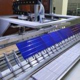Солнечная панель с алюминиевой рамкой черного и серебристого цвета