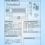 Módulo del LCD de la visualización de carácter 20*04