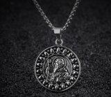 人のローマカトリック教のキリスト教の宗教魔除けの天恵の男性の宝石類のためのNursiaメダル吊り下げ式のネックレスの聖者ベネディクト