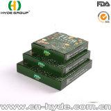 Aislamiento de 7 pulgadas de Pizza de cartón caja de embalaje con impresión personalizada