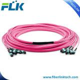 MPO MTP/SM/OM3/Cable de fibra óptica Om4 latiguillo para redes FTTH