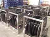 Spoelen van het Roestvrij staal van het Frame van de gids de Facultatieve Handcrank Gedreven