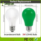 Lâmpada de luzes de LED Verde Non-Dimmable 3W parte decorativa Lâmpada com base E26