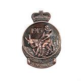 Старинная Silver покрытие военных задач медали (Ele-C125)