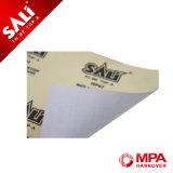 Carta vetrata bianca impermeabile abrasiva del lattice di colore