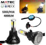 Phare de voiture à LED H1 H3 H7 H11 H4 880 881 9006 9005 COB, Projecteur à LED haute puissance Projecteur à LED G5