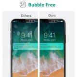 La couverture totale de Ctunes 9h 3D Anti-Rayent le film à effleurement de protecteur d'écran en verre Tempered pour l'iPhone X/10 2017