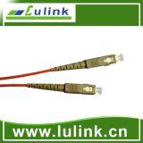 Cordon de connexion de fibre optique avec le simplex modèle multiple à vendre