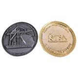 Silberner Metallbritischer Zoll überzogener Andenken-Münzen-Goldmünze-Großverkauf