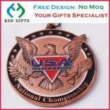 カスタム卸売3Dの記念品の軍の硬貨メーカー