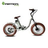 [أمس-تدن-01] إطار العجلة سمين يطوي درّاجة رخيصة كهربائيّة