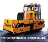 Rullo compressore vibratorio in tandem (modello: YZC7 (CC21))