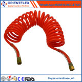 Spirale pneumatique de remorque de camion flexible de frein de l'air PU PA flexible à air de la bobine de tubes de recul