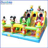Do campo de jogos inflável da cidade do divertimento de Mickey parque de diversões inflável