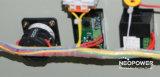Стабилизатор силы одиночной фазы Servo с метром СИД AMP/Volt