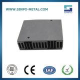 Profil en aluminium anodisé noir personnalisé