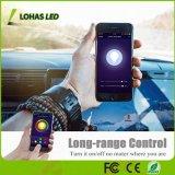 Франтовской шарик светов 50W соответствующий (8W) E26 СИД электрической лампочки Br20 WiFi управлением телефона пестротканый