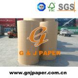 Reines weißes Offsetdruckpapier der Jungfrau-60GSM in der Rolle