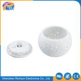Cerâmica Branca quente de LED de parede exterior moderno jardim Luz Solar