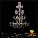 Iluminação de cristal dos candelabros enormes luxuosos da entrada (1702-16+8+8+8-335+265 CGW)