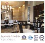 Elegante Gaststätte-Möbel mit dem Speisen des Stuhls und des Tisches stellten ein (YB-WS10)