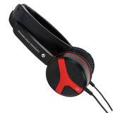 Portable verdrahtet auf dem Ohr, das Kopfhörer MP3 mit dem Zusatz 3.5mm und 120cm Kabel faltet