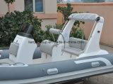 Liya 17pies fabricantes de barcos inflables casco rígido Rib excursión en barco.