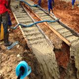 Pianta ad alta pressione della lavata dell'oro dell'argilla dell'impianto di lavaggio pesante della miniera di oro