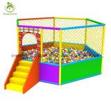 Сказовое используемое пластичное крытое оборудование спортивной площадки с бассеином шарика для сбывания