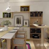 ワインのキャビネットが付いている食堂の家具の食料貯蔵室の食器棚