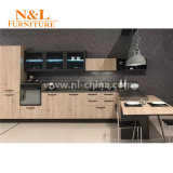 N & l меламин смотрели на мебель кухни Chipboard дешевую