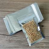 Mit Reißverschluss versiegelbare Aluminiumfolie-Plastik-Beutel für Lebensmittelkonservierung