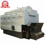 Chaudière à vapeur allumée par charbon durable de structure compacte